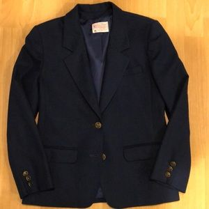 Pendleton classic wool blazer